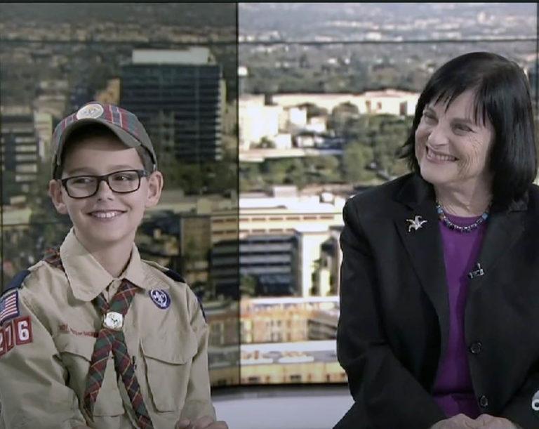 Patrick Lowenstein Barbara Saltzman on KABC TV