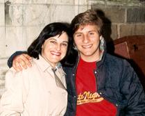 Barbara & David Saltzman, Yale 1988