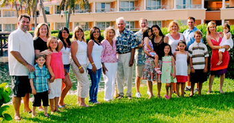 spencer family in cancun