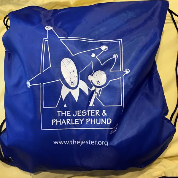 Jester and Pharley Backpack