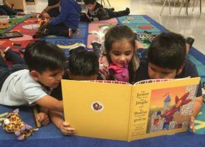 kids reading fenton